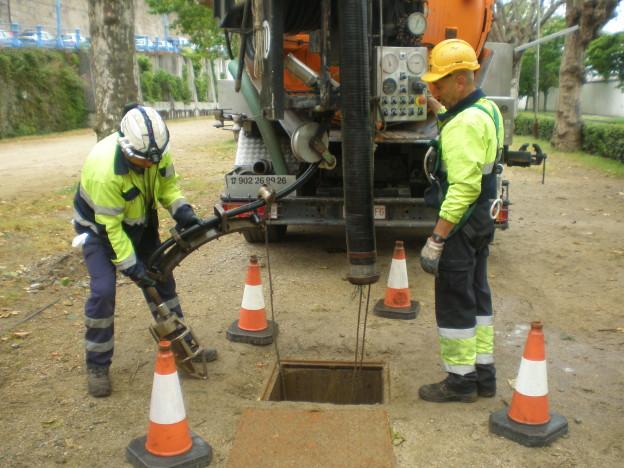 Excavación por succión