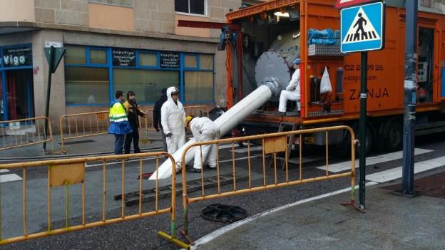 renocçvación de tuberías con manga continua en Vigo