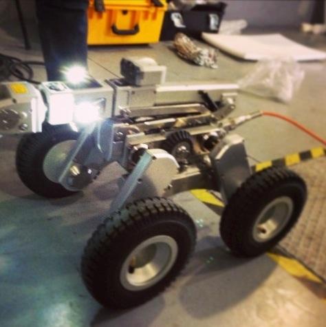 Robot Inspección CCTV