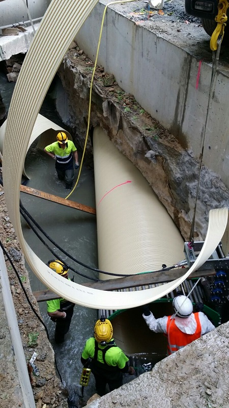 DN 1500 mm PVC