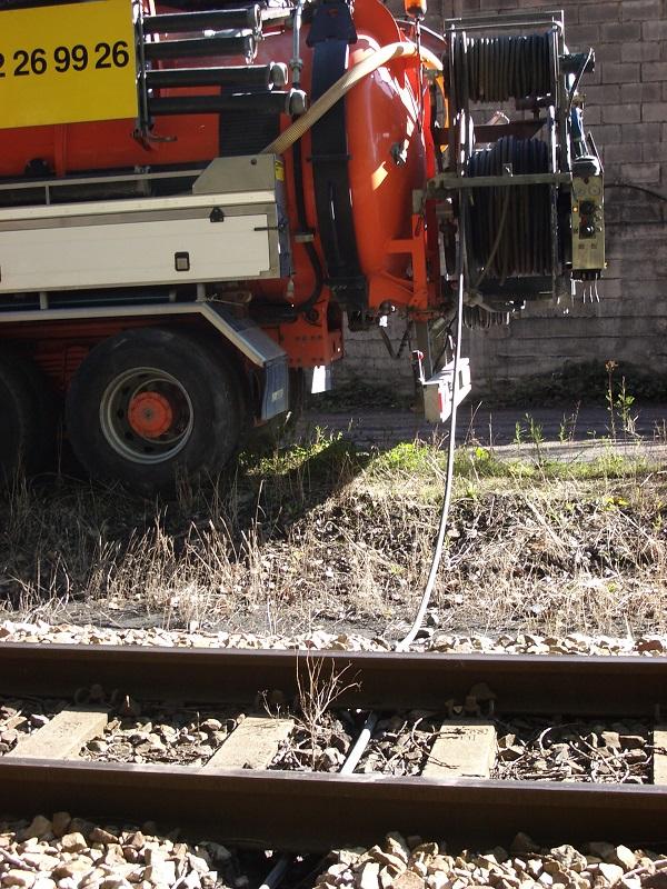 Trabajos ferroviarios